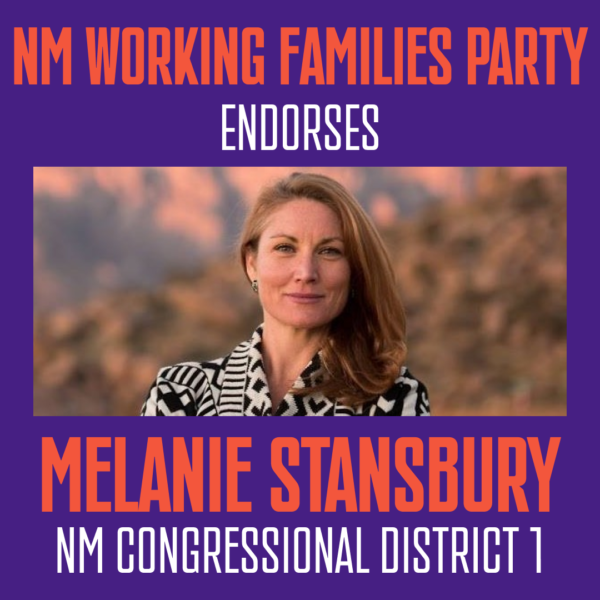 Melanie Stansbury CD 1 Endorsement