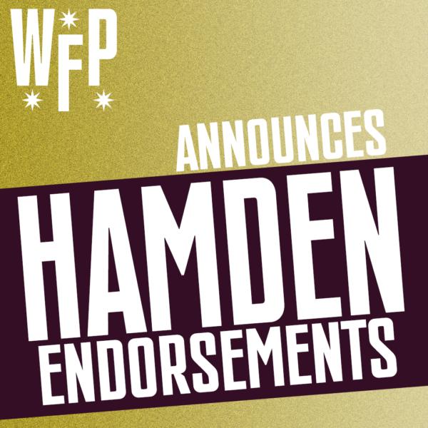 Hamden Endorsements
